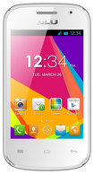 Blu - Dash Jr W D141w Cell Phone (Unlocked) - White