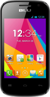 Blu - Dash Jr W D141w Cell Phone (Unlocked) - Black