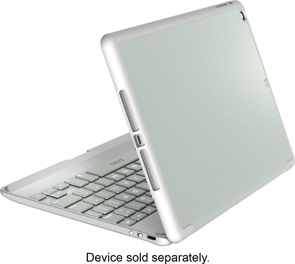 ZAGG - ZaggFolio Keyboard Case for Apple® iPad® Air 2 - Sage