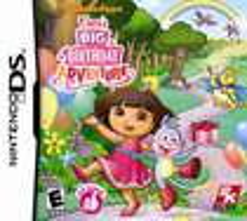 Dora's Big Birthday Adventure - Nintendo DS