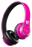 Life N Soul - Bluetooth Over-the-Ear Headphones - Pink/Black