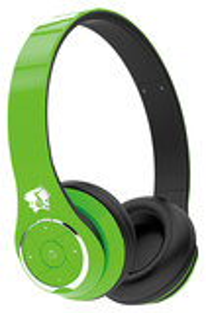Life N Soul - Bluetooth Over-the-Ear Headphones - Green