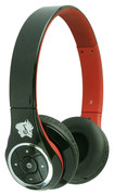 Life N Soul - Bluetooth Over-the-Ear Headphones - Black/Red