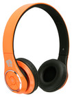 Life N Soul - Bluetooth Over-the-Ear Headphones - Orange
