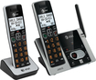 At&t - CL82213 Dect 6.0 Expandable Cordless Phone System with Digital Answering System - Black