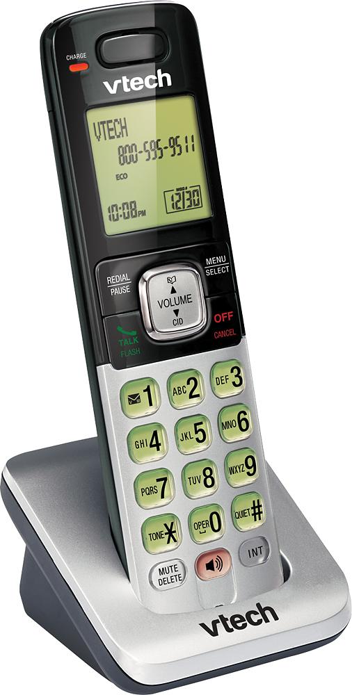 VTech - CS6709 DECT 6.0 Cordless Expansion Handset - Silver
