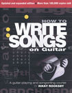 Hal Leonard - How to Write Songs on Guitar Instructional Book - Multi