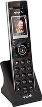 VTech - DECT 6.0 Cordless Expansion Handset for Vtech IS7121 Expandable Phone System - Black