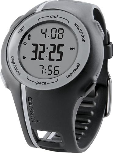 Garmin - Forerunner 110 GPS-Enabled Sports Watch - Gray/Blue