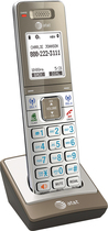AT&T - CLP99003 Connect to Cell DECT 6.0 Cordless Expansion Handset - Silver