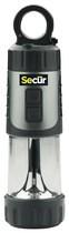 Secur - Dynamo Lantern with Flashlight - Silver/Black