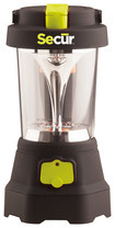Secur - Dynamo LED Hand-Crank Spotlight and Lantern - Green/Black