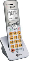 AT&T - EL50003 DECT 6.0 Cordless Expansion Handset - Silver