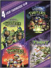 Teenage Mutant Ninja Turtles: 4 Film Favorites [2 Discs] (DVD) (Enhanced Widescreen for 16x9 TV) (Eng/Fre/Spa)