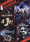 Final Destination Collection: 4 Film Favorites [ws] [2 Discs] (dvd) 1171103