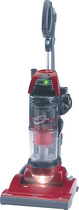 Panasonic - Cyclonic Bagless Upright Vacuum Cleaner - Red