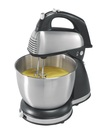 Hamilton Beach - 6-Speed Classic Hand/Stand Mixer - Stainless Steel