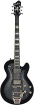 Hagstrom - Tremar Series Super Swede 6-String Full-Size Electric Guitar - Cosmic Black Burst