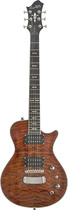 Hagstrom - UltraLux Series Ultra Swede 6-String Full-Size Electric Guitaren - Golden Eagle Burst