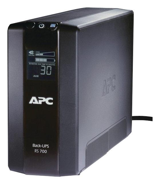 APC - Back-UPS RS 700VA Tower UPS - Black