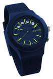 ConnectedDevice - Cogito Pop 3.0 Smart Watch for Select Android and Apple® iOS Devices - Blue Electric