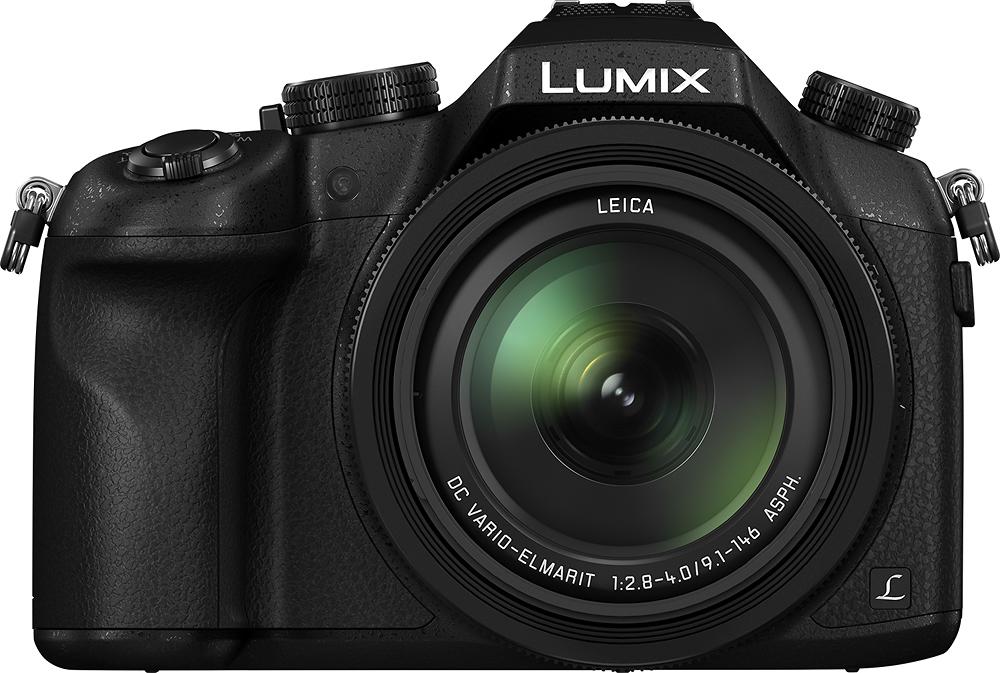 Panasonic - DMC-FZ1000 12.8-Megapixel Digital Camera - Black