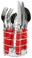 Gibson - Sensations II 16-Piece Flatware Set - Red