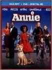 Annie (Blu-ray Disc) (2 Disc) (Ultraviolet Digital Copy) 2014