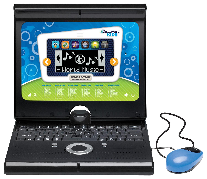 Discovery Kids - Exploration Laptop - Aqua