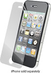 ZAGG - InvisibleShield for Apple® iPhone® 4 - Clear