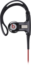 Beats by Dr. Dre - Powerbeats by Dr. Dre Clip-On Earbud Headphones - Black