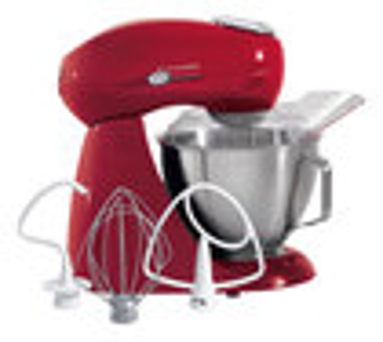 Hamilton Beach - Eclectrics Stand Mixer - Red