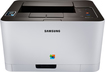 Samsung - Xpress Network-Ready Wireless Color Laser Printer - Gray