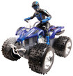 Blue Hat Toy Company - Remote-Controlled ATV - Blue