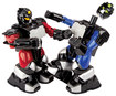 Blue Hat Toy Company - Black Series Cyber Boxing RC Robots - Black/Blue/Red