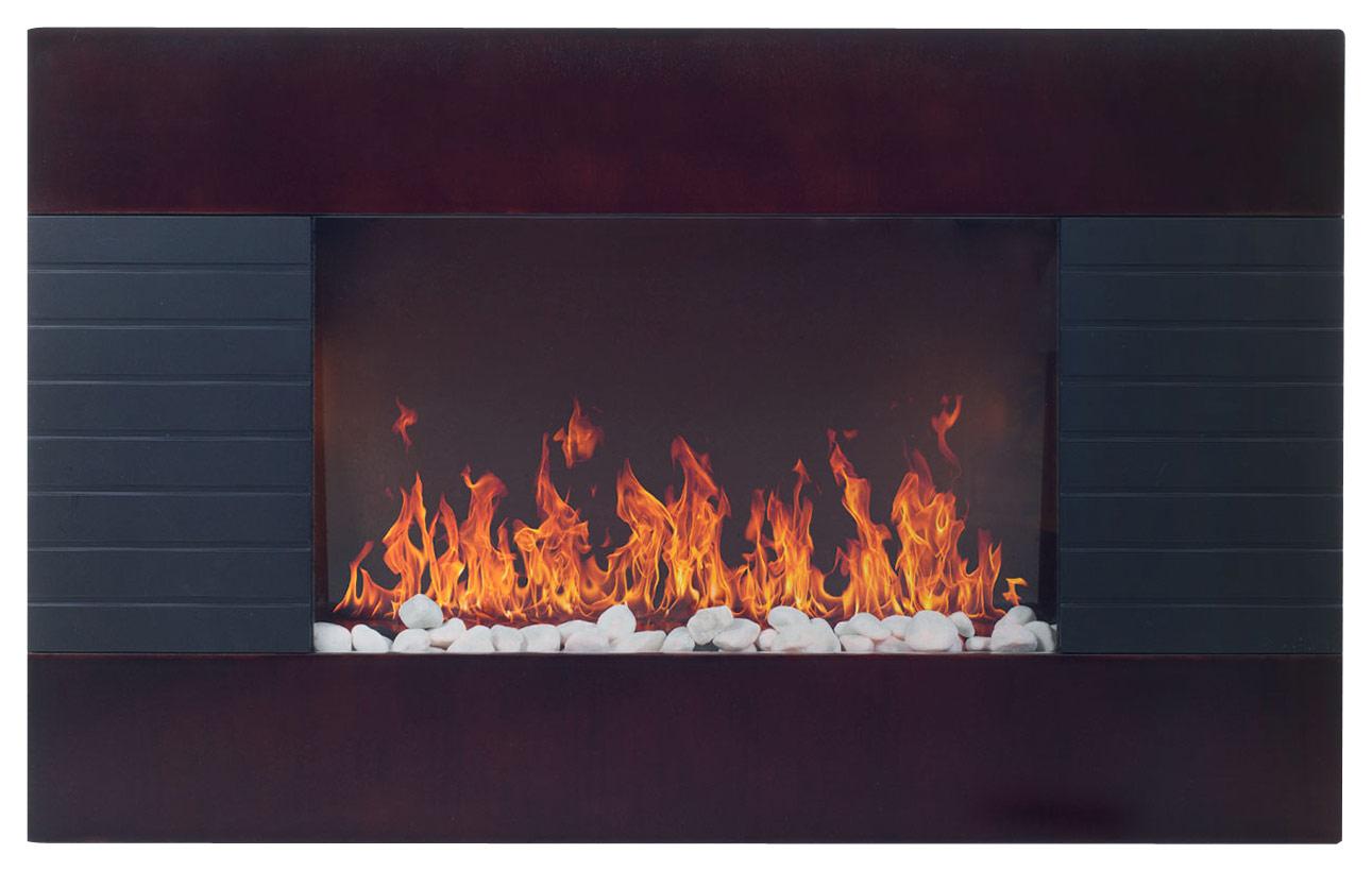 Even Glow - Electric Fireplace - Dark Brown