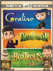 Three Film Laika Collection: Coraline/ParaNorman/The Boxtrolls [3 Discs] (DVD)