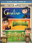 Boxtrolls/Paranorman/Coraline Triple Feature (Blu-ray Disc) (Eng/Spa/Fre)