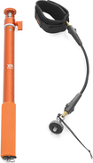 XSORIES - Big U-Shot and Wrist Cord Cam Leash - Orange/Black