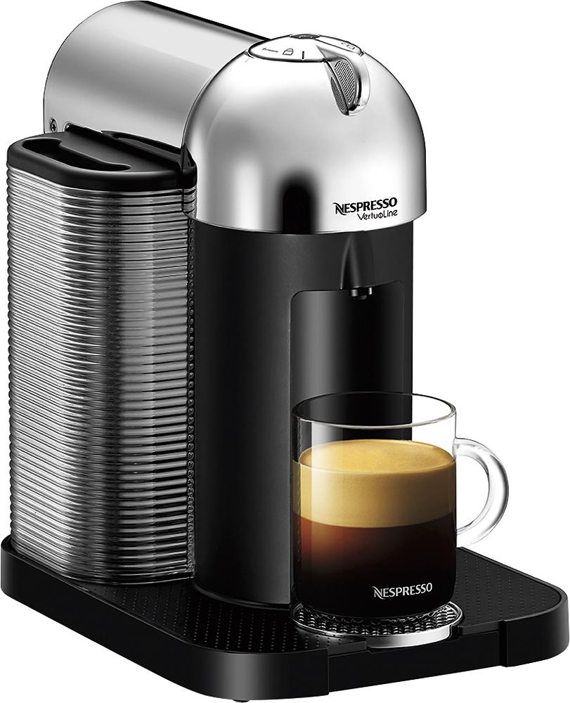 Nespresso - Vertuoline Espresso Maker & Coffeemaker - Chrome