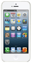 Apple® - iPhone® 5 Cell Phone with 16GB Memory (Unlocked) - White