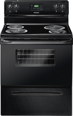 "Frigidaire - 30"" Freestanding Electric Range - Black"