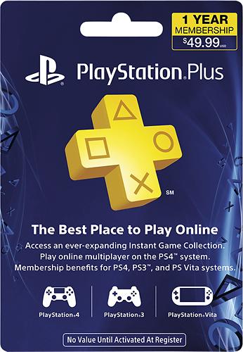 Sony - PlayStation Plus 12-Month Membership