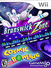 Brunswick Zone Cosmic Bowling - Nintendo Wii
