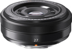 Fujifilm - Xf 27mm F\/2.8 Compact Prime Lens For Fujiflm Xm-1, X-pro1 And X-e1 Digital Cameras - Black