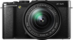 Fujifilm - X-M1 Mirrorless Camera with 16-50mm Lens - Black