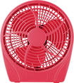 "Insignia™ - 9"" Table Fan - Red"