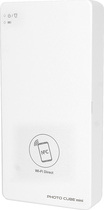 VuPoint - Photo Cube Mini Wireless Photo Printer - White