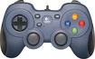 Logitech - F310 Gaming Pad - Blue/Black
