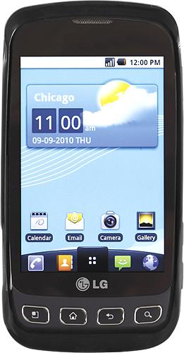 Rocketfish™ Mobile - Snap-On Case for LG Vortex Mobile Phones - Black